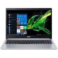 "Ноутбук Acer Aspire 5 A515-55 (NX.HSMEU.006); 15.6"" FullHD (1920x1080) TN LED матовый / Intel Core i5-1035G1 (1.0 - 3.6 ГГц) / RAM 8 ГБ / SSD 256 ГБ / Intel UHD Graphics / нет ОП / LAN / Wi-Fi / BT / веб-камера / Linux / 1.8 кг / серебристый / подсве"