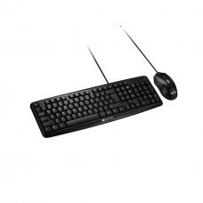 Комплект (клавиатура, мышь) Canyon CNE-CSET1-RU USB Black