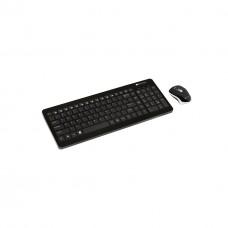 Комплект (клавиатура, мышь) беспроводной Canyon CNS-HSETW3-RU USB Black