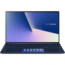 "Ноутбук Asus UX534FTC-A8095T (90NB0NK1-M02120); 15.6"" FullHD (1920x1080) IPS LED матовый / Intel Core i5-10210U (1.6 - 4.2 ГГц) / RAM 8 ГБ / SSD 512 ГБ / nVidia GeForce GTX1650 Max-Q, 4 ГБ / без ОП / Wi-Fi / BT / веб-камера / Windows 10 Home / 1.65 к"