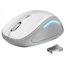 Мышь беспроводная Trust Yvi FX (22335) White USB