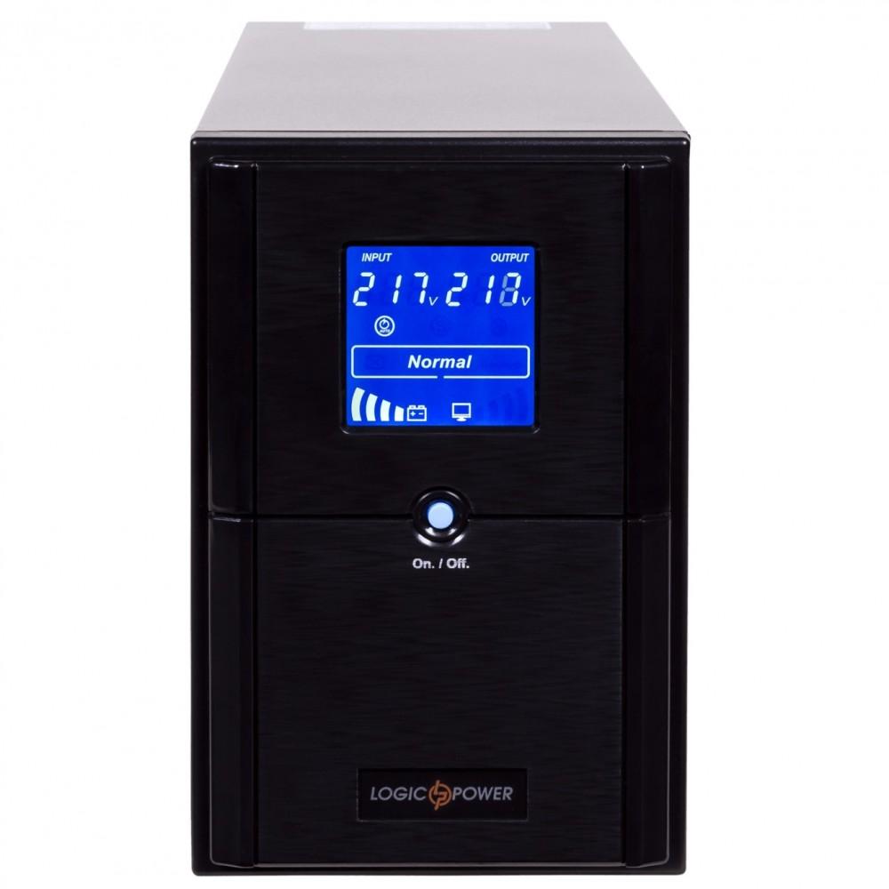 ИБП LogicPower LPM-UL1550VA, Lin.int., AVR, 3 x евро, USB, LCD, металл