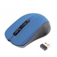Мышь беспроводная Maxxter Mr-337-Bl Blue USB