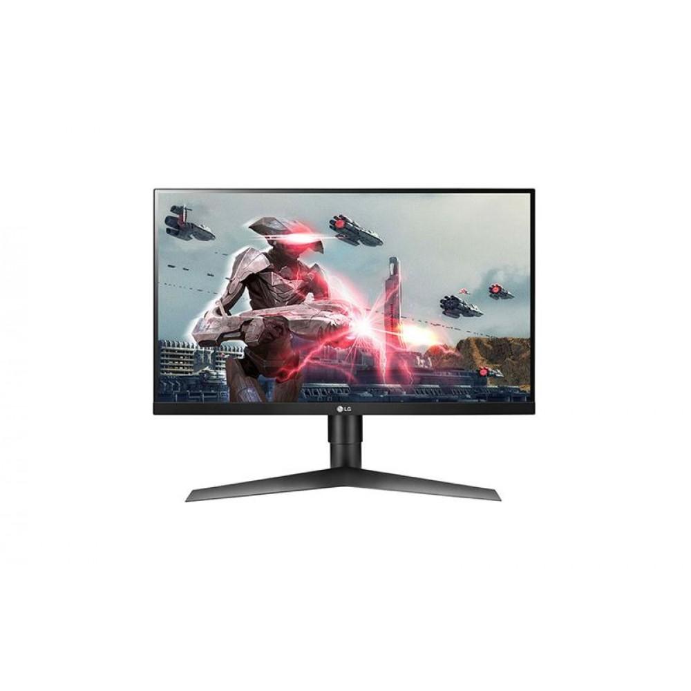 """Монитор LG 27"""" UltraGear 27GL650F-B IPS Black; 1920x1080 (144 Гц), 1 мс, 400 кд/м2, DisplayPort, 2xHDMI"""