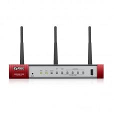 Межсетевой экран ZYXEL USG20W-VPN (USG20W-VPN-EU0101F) (AC1300/N450, 1xGE WAN, 4xGE LAN/DMZ, 1xSFP, 1xConsole, 1xUSB)