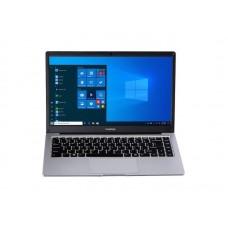 "Ноутбук Prestigio SmartBook 141 C4 (PSB141C04CGP_MG_CIS); 14.1"" FullHD (1920x1080) IPS LED глянцевый / AMD A4-9120e (1.5 - 2.2 ГГц) / RAM 4 ГБ / eMMC 64 ГБ / AMD Radeon R3 / без ОП / Wi-Fi / BT / веб-камера / Windows 10 Professional / 1.3 кг / серебр"