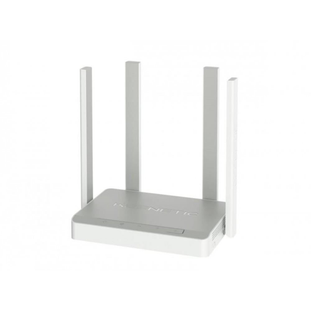 Беспроводной маршрутизатор KEENETIC Speedster (KN-3010) (AC1200, 5*GE, MU-MIMO, ATF, Beamforming, 4 антенны)