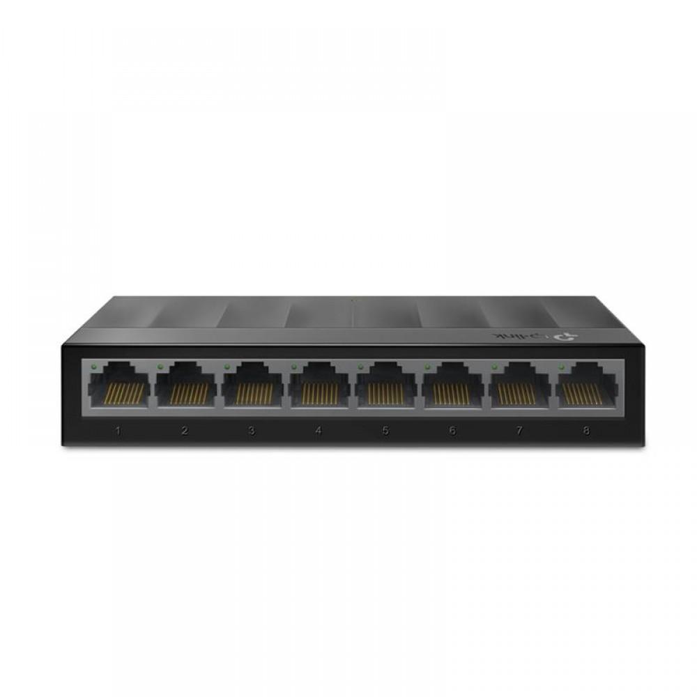 Коммутатор TP-Link LS1008G (8хGE, пластик)