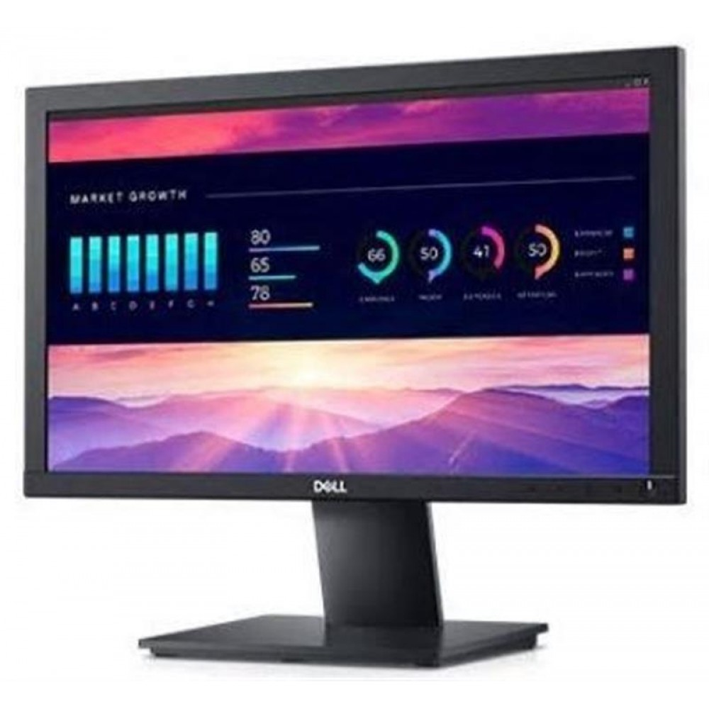 "Монитор DELL 18.5"" E1920H (210-AURI) Black; 1366x768, 200 кд/м2, 5 мс, D-Sub, DisplayPort"