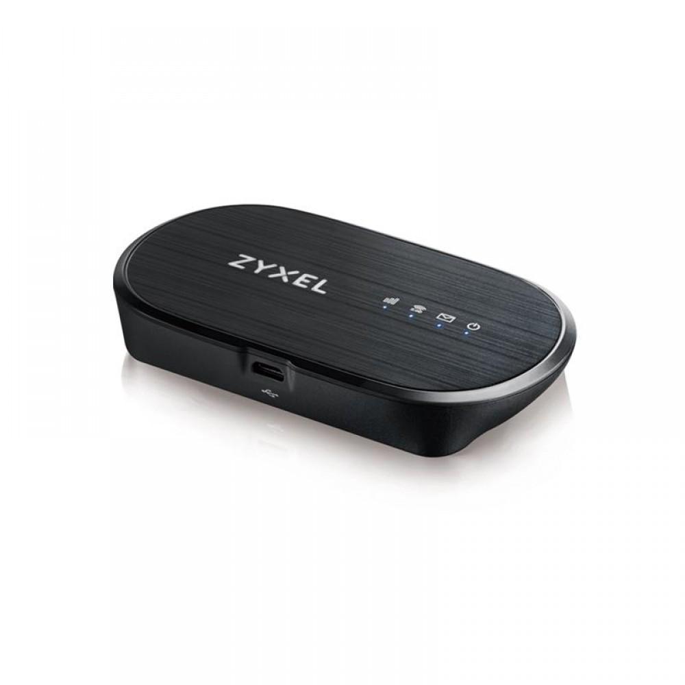 Беспроводной маршрутизатор ZYXEL WAH7601 (WAH7601-EUZNV1F) (N300, 1xSim, LTE cat4, портативный)