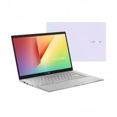 """Ноутбук Asus S433FA-EB083 (90NB0Q03-M07700; 14"""" FullHD (1920x1080) IPS LED матовый / Intel Core i5-10210U (1.6 - 4.2 ГГц) / RAM 8 ГБ / SSD 512 ГБ / Intel UHD Graphics / нет ОП / Wi-Fi / BT / Without OS / 1.4 кг / белый / подсветка клавиатуры"""