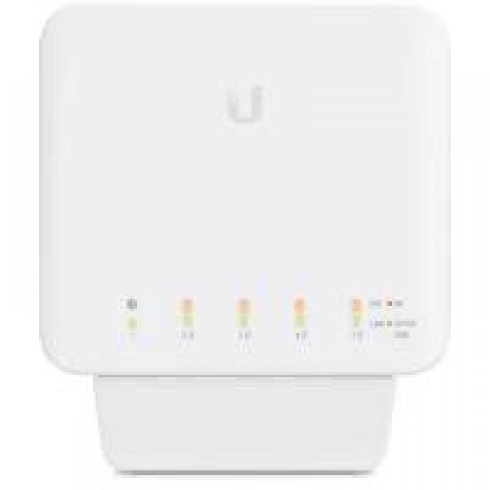 Коммутатор Ubiquiti UniFi USW-Flex (1xGE PoE++, 4хGE PoE, 46W max)