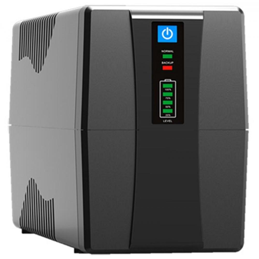 ИБП FrimeCom VP-1000, Line Int., AVR, 2 x евро, LED, пластик