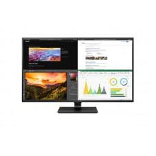 """Монитор LG 42.51"""" 43UN700-B IPS Black; 3840x2160, 400 кд/м2, 8 мс, 4хHDMI, DisplayPort, 2хUSB3.1, USB-C, динамики 2х5 Вт"""