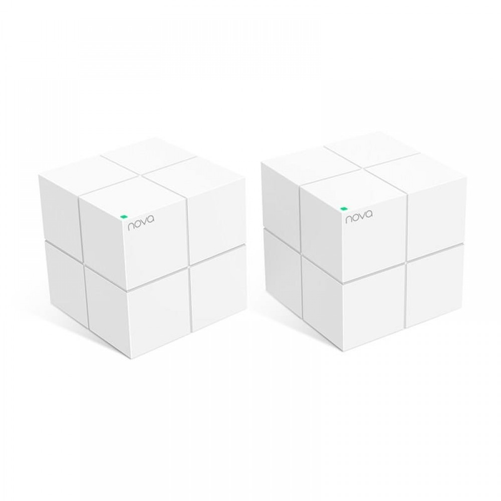WiFi Mesh система Tenda Nova MW6 (2-pack) (MW6-KIT-2) (AC1300, 2xGE WAN/LAN, Beamforming, MESH, MU-MIMO, 2-pack)