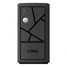 ИБП NJOY Keen 600, Lin.int., AVR, 2 x евро, пластик