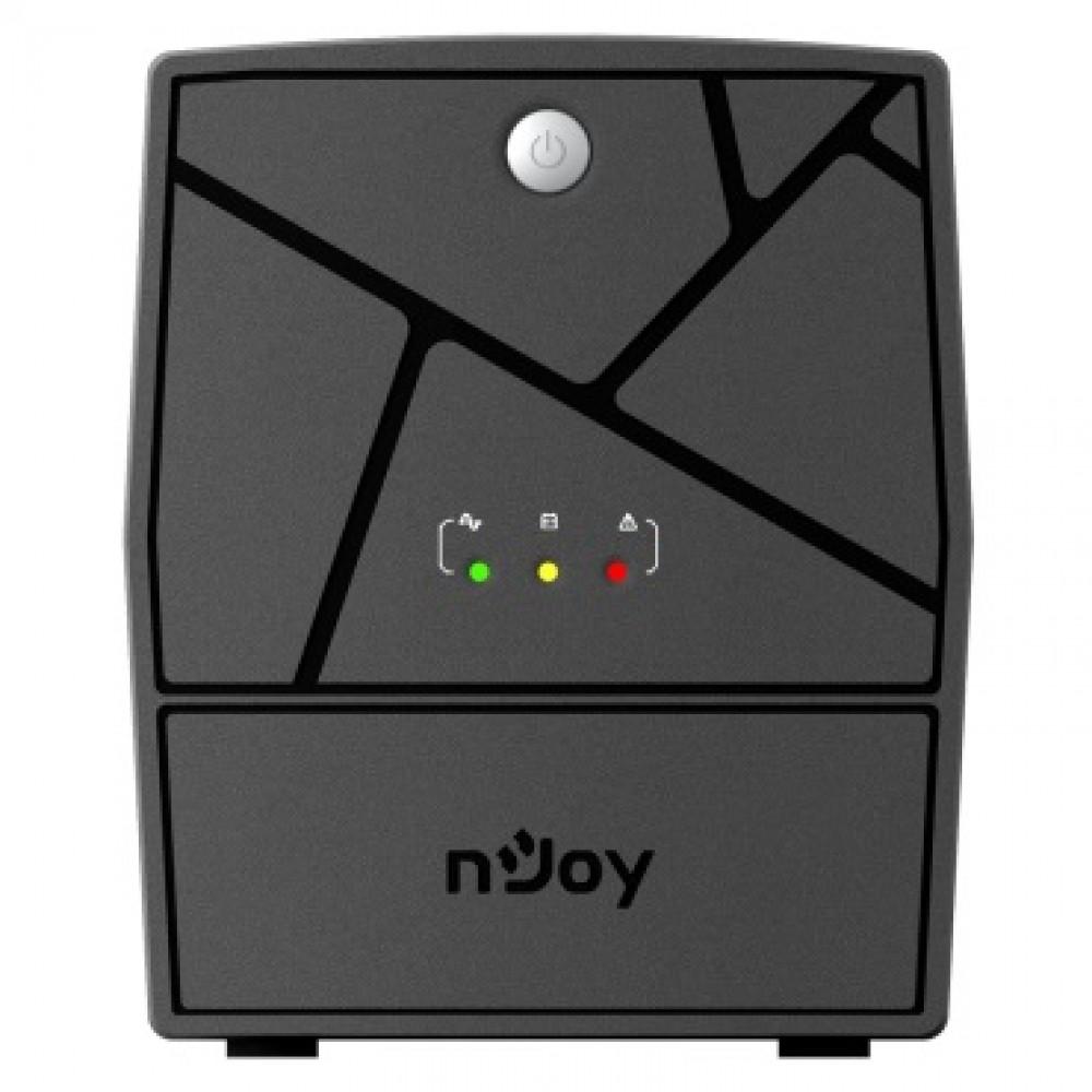 ИБП NJOY Keen 2000 (UPLI-LI200KU-CG01B) Lin.int., AVR, 4 x евро, USB, пластик