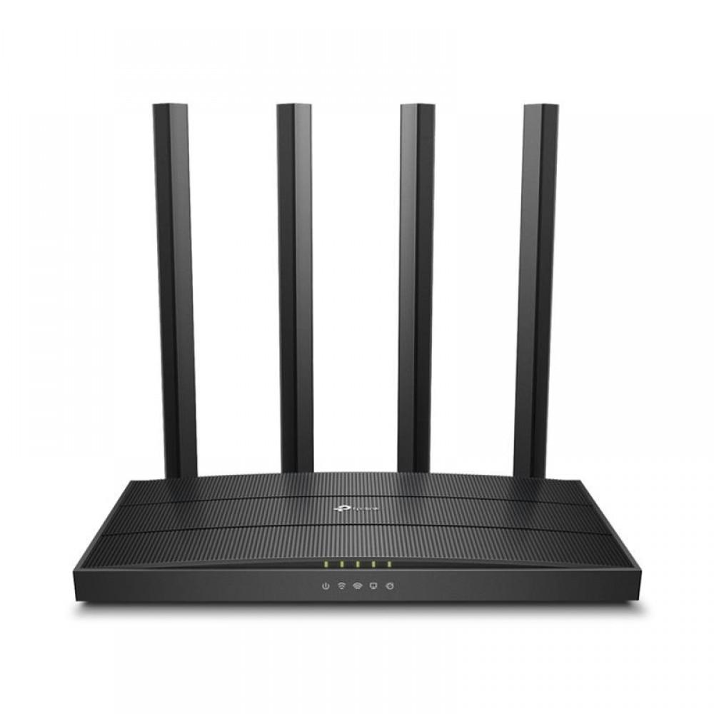 Беспроводной маршрутизатор TP-Link ARCHER C80 (AC1900, 1хGE WAN, 4хGE LAN, MU-MIMO, Beamforming, Airtime Fairness, 4 внешние антенны)