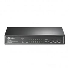 Коммутатор TP-Link TL-SF1009P (1хFE, 8xFE PoE, max PoE+ 65W)