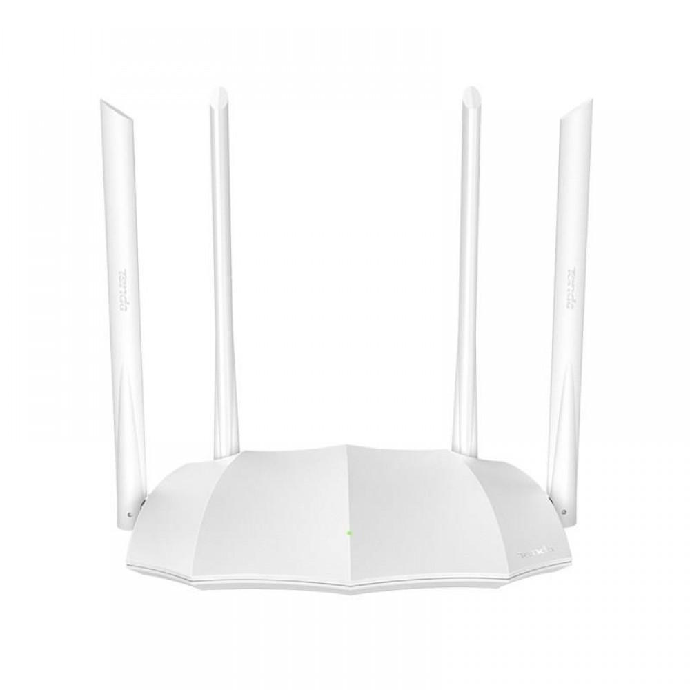 Беспроводной маршрутизатор Tenda AC5 V3 (AC1200, 3xFE LAN, 1xFE WAN, Beamforming, MU-MIMO, 4x6dBi антенны)