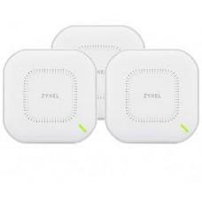 Точка доступа ZYXEL NWA110AX 3-pack (NWA110AX-EU0103F) (AX1800, 1xGE, WiFi 6, Nebula, PoE, MU-MIMO, 3 точки без инжекторов)
