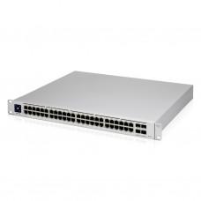 Коммутатор Ubiquiti UniFi Switch PRO 48 PoE Gen2 (USW-PRO-48-POE) (40xGE PoE+, 8хGE PoE++, 4xSFP+, L3, 802.3bt/at/af, 600W max)