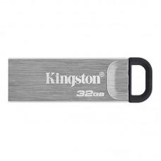 Флеш-накопитель USB3.2 32GB Kingston DataTraveler Kyson Silver/Black (DTKN/32GB)