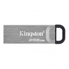 Флеш-накопитель USB3.2 256GB Kingston DataTraveler Kyson Silver/Black (DTKN/256GB)