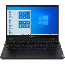 "Ноутбук Lenovo Legion 5 15ARH05H (82B100FDRA); 15.6"" FullHD (1920x1080) IPS LED матовый 120Hz / AMD Ryzen 5 4600H (3.0 - 4.0 ГГц) / RAM 8 ГБ / SSD 256 ГБ / nVidia GeForce RTX2060, 6 ГБ / нет ОП / LAN / Wi-Fi / Bluetooth / веб-камера / DOS / 2.5 кг /"