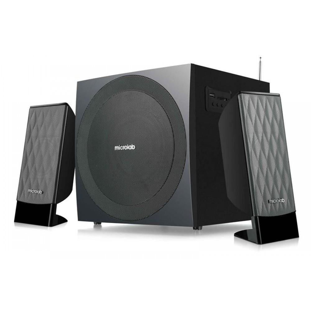 Акустическая система Microlab M-300U Black