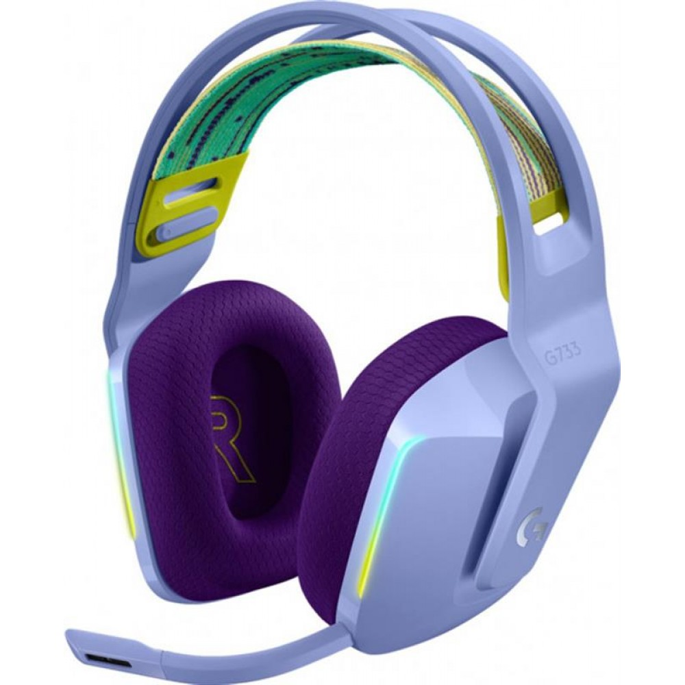 Гарнитура Logitech G733 Lilac (981-000890)