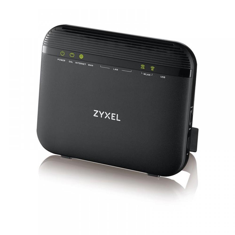 Беспроводной маршрутизатор ZYXEL VMG3625-T20A (VMG3625-T20A-EU01V1F) (AC1200, 1xGE WAN, 1xRJ-11 WAN, 4xGE LAN, 1xUSB2.0)