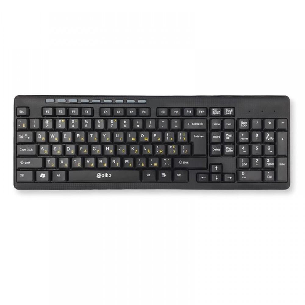Клавиатура Piko KB-108X Black (1283126467073)