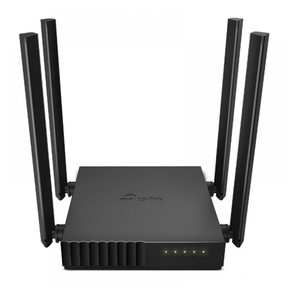 Беспроводной маршрутизатор TP-Link ARCHER C54 (AC1200, 1хFE WAN, 4хFE LAN, Beamforming, APP Tether, 4 внешние антенны)