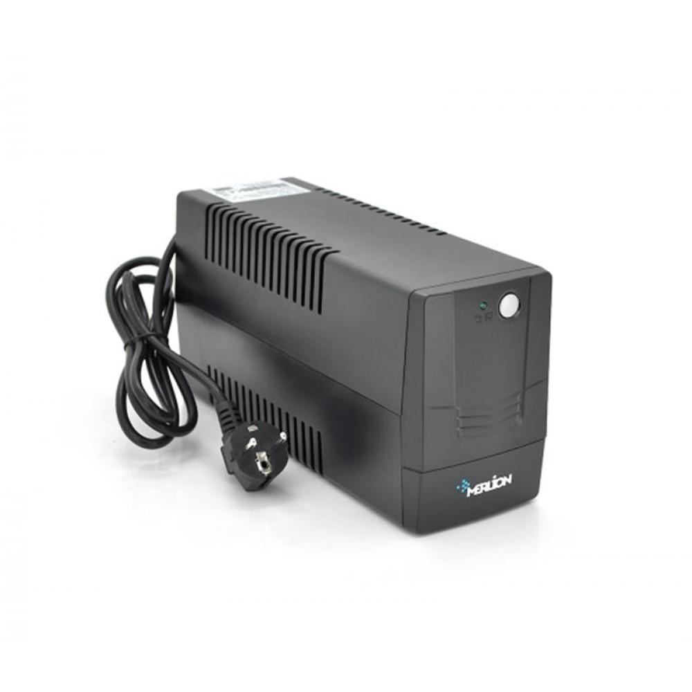 ИБП Merlion Velli 800, Lin.int., AVR, 2 x Schuko, пластик