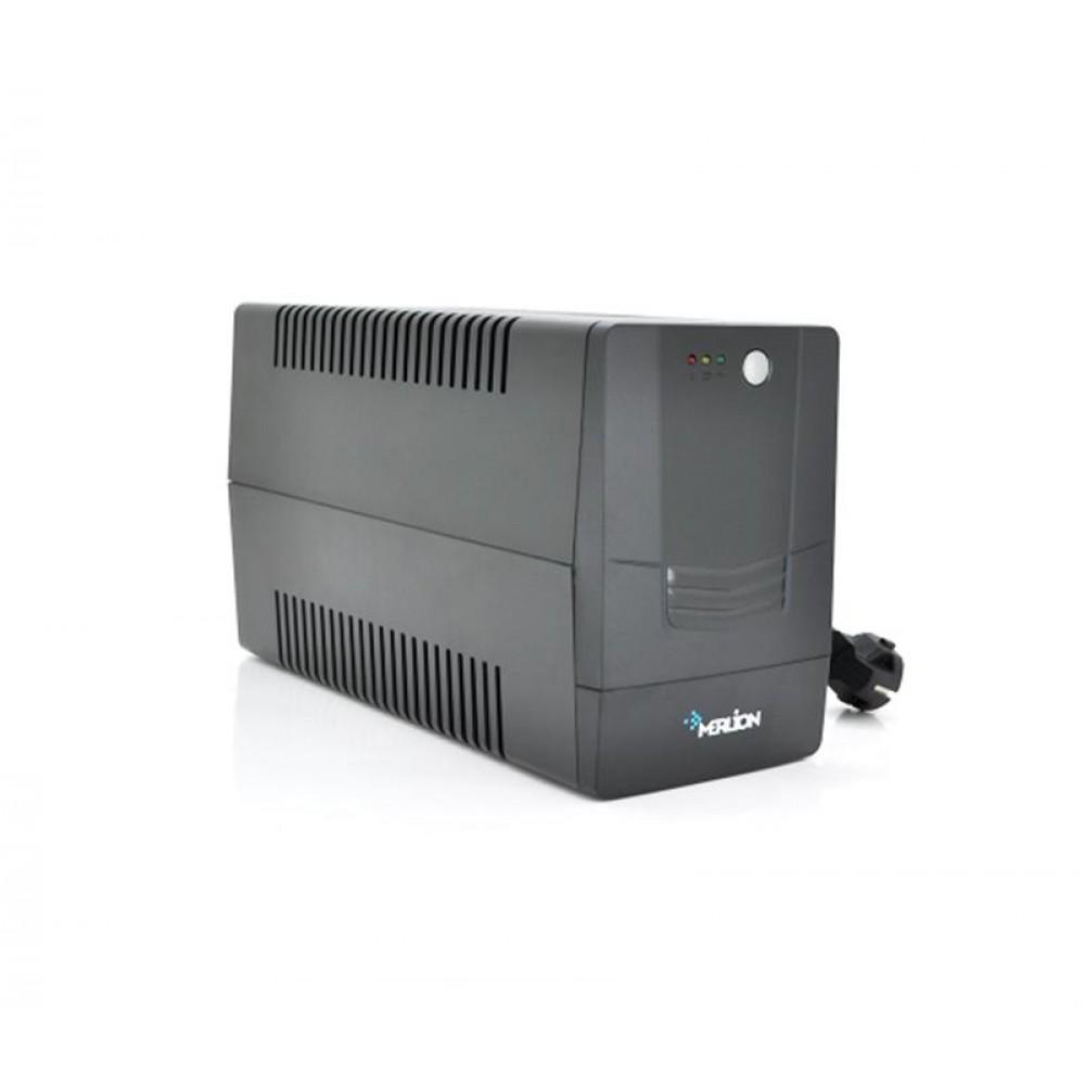 ИБП Merlion Velli 1000, Lin.int., AVR, 4 x Schuko, пластик
