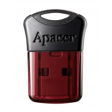 Флеш-накопитель USB3.2 64GB Apacer AH157 Black/Red (AP64GAH157R-1)