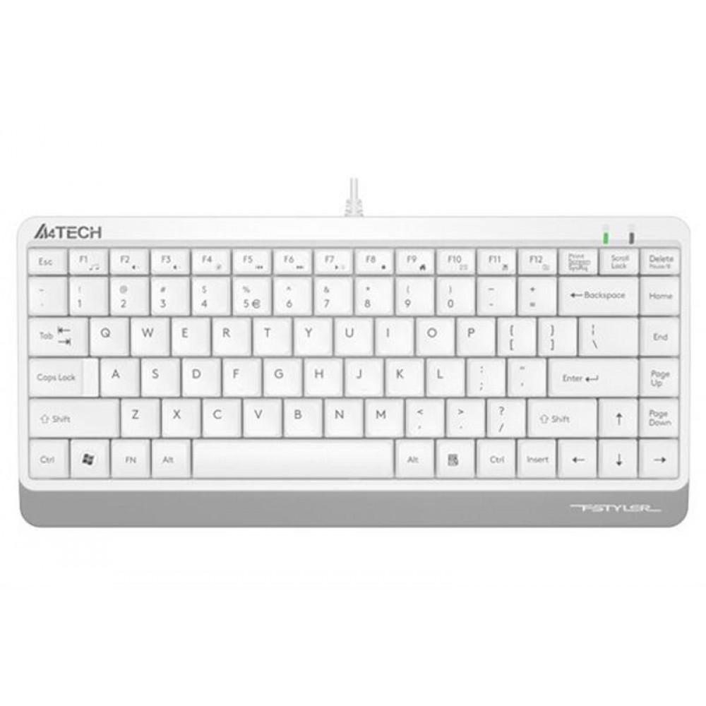 Клавиатура A4Tech FK11 White USB