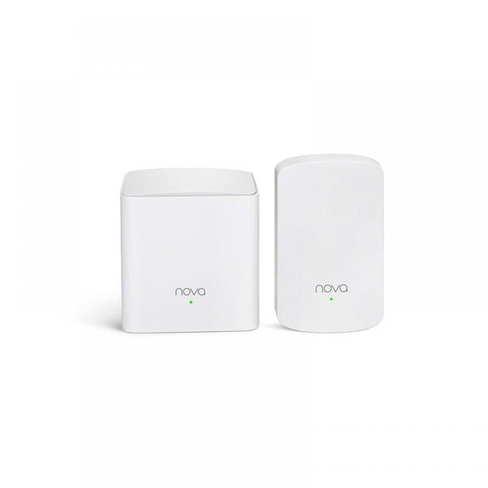 WiFi Mesh система Tenda Nova MW5 (MW5-KIT-2) (AC1200, 1xGE WAN/LAN, 1xGE LAN, Beamforming, MESH, MU-MIMO, 2 антенны, 2-pack)