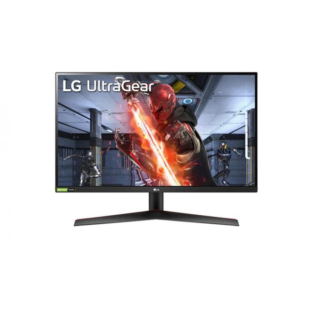 """Монитор LG 27"""" UltraGear 27GN600-B IPS Black; 1920x1080 (144 Гц), 350 кд/м2, 1 мс, 2хHDMI, DisplayPort"""