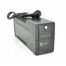 ИБП Ritar RTP600, Lin.int., AVR, 2xSchuko, пластик (RTP600L/05843)