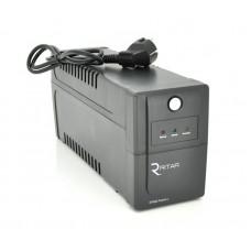 ИБП Ritar RTP800 Proxima-L 480 W, Lin.int., AVR, 2xSchuko, пластик (RTP800L/05846)
