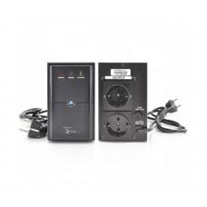 ИБП Ritar E-RTM650 ELF-L 390W, Lin.int., AVR, 2xSchuko, металл (E-RTM650L/09816)