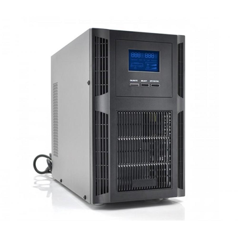 ИБП Ritar PT-1KS-LCD/04218, Online, 2xSchuko, USB, металл