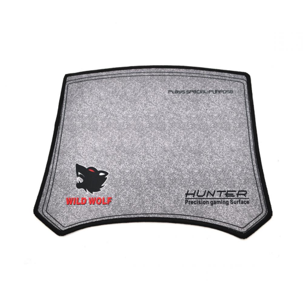 Коврик для мыши Voltronic Hunter Wild Wolf, Grey (YT-MHWW/06561)