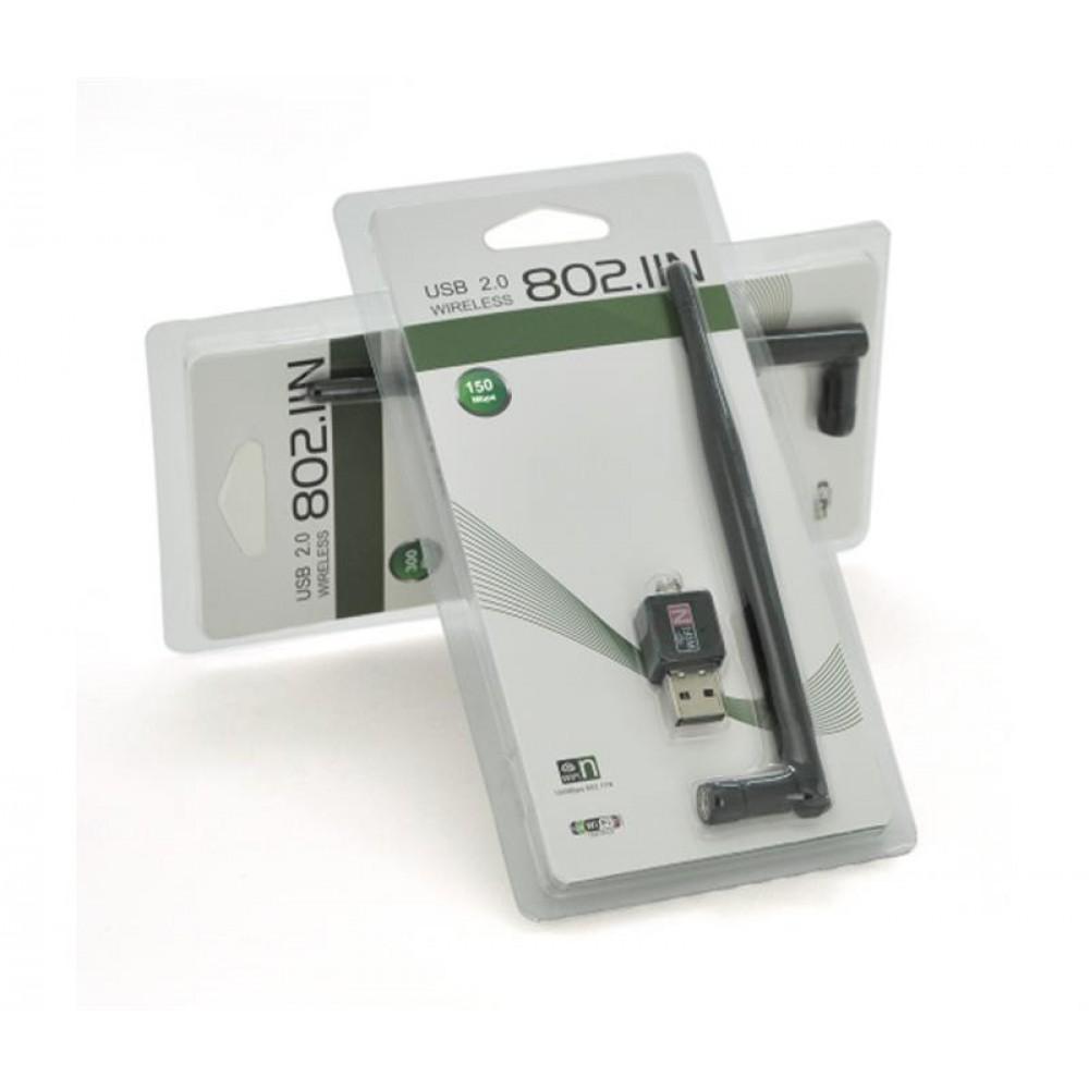 Беспроводной адаптер Merlion LV-UW02-5DB-MTK7601/17111