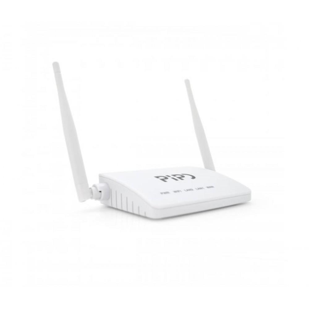 Беспроводной маршрутизатор Pipo PP323/01733 (1 х FE WAN, 2 x FE LAN, 2 внешние антенны 3dbi)