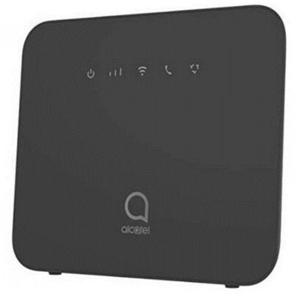 Беспроводной маршрутизатор Alcatel LINKHUB LTE Home Station (HH42CV-2AALUA1-1) (N300, 1xFE WAN, 1xFE LAN, 1xSIM; 4G/LTE Cat.4, Qualcomm MDM9607+MT7628AN, 1xRJ11, 2xSMA, 2x4dBi внешние антенны)