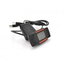 Веб-камера Merlion F37/18221, 1080p, с гарнитурой Black