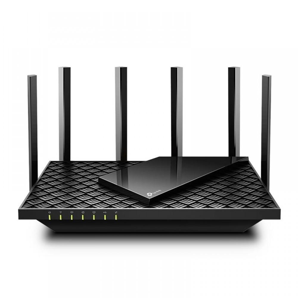 Беспроводной маршрутизатор TP-Link Archer AX73 (AX5400, Wi-Fi 6, 1хGE WAN, 4хGE LAN, 1хUSB3.0, 4T4R, HT160, 6х внешних антенн)